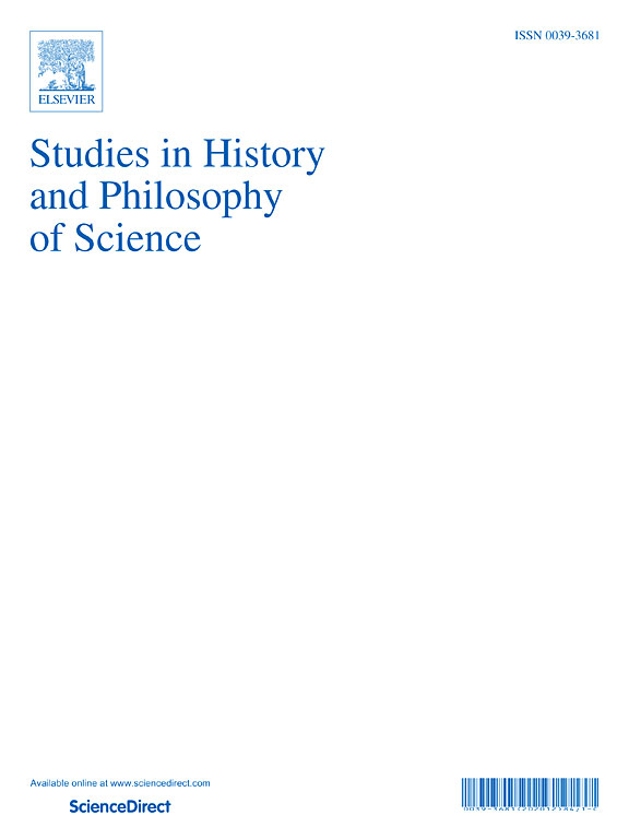 Studies in History and Philosophy of Science 71 (2018)