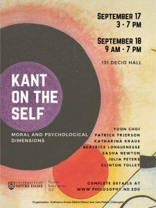 Workshop Kant on the Self